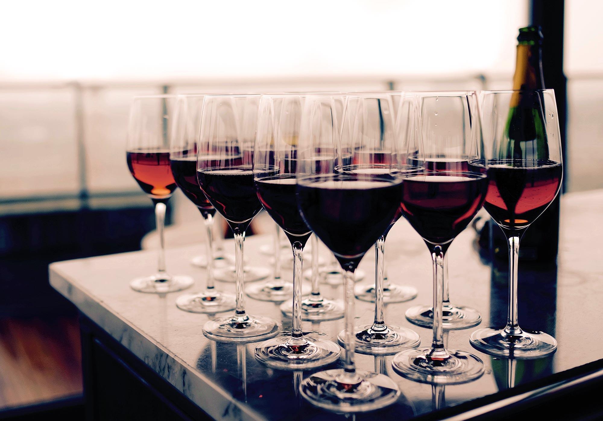 Weinproben