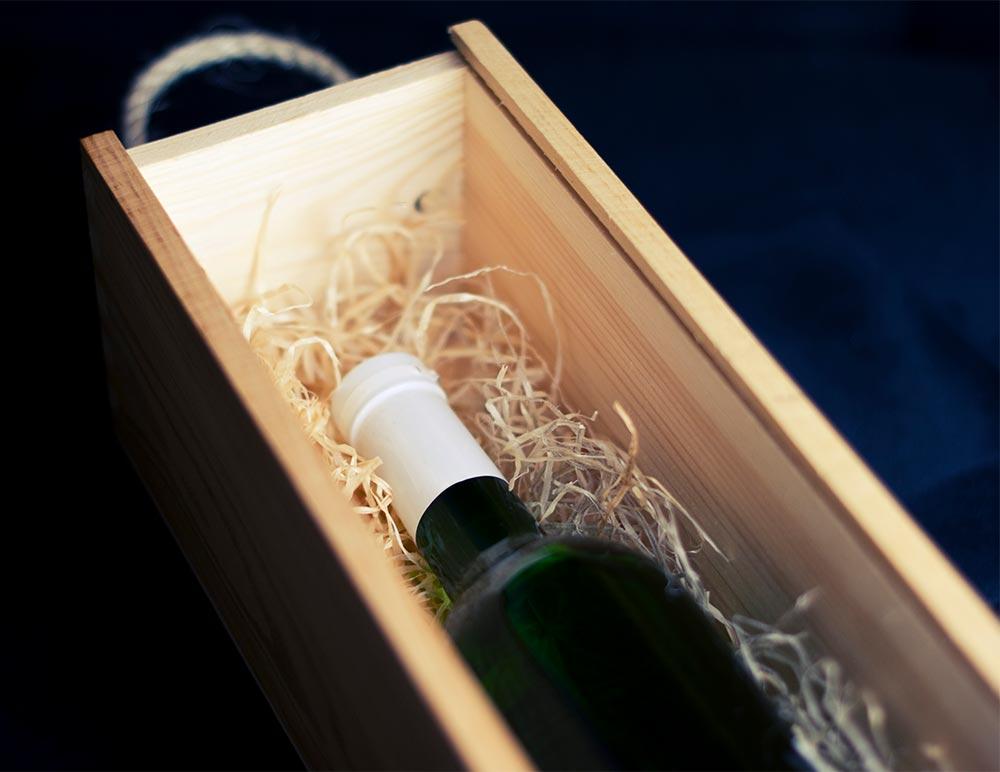Geschenkbox für Weine