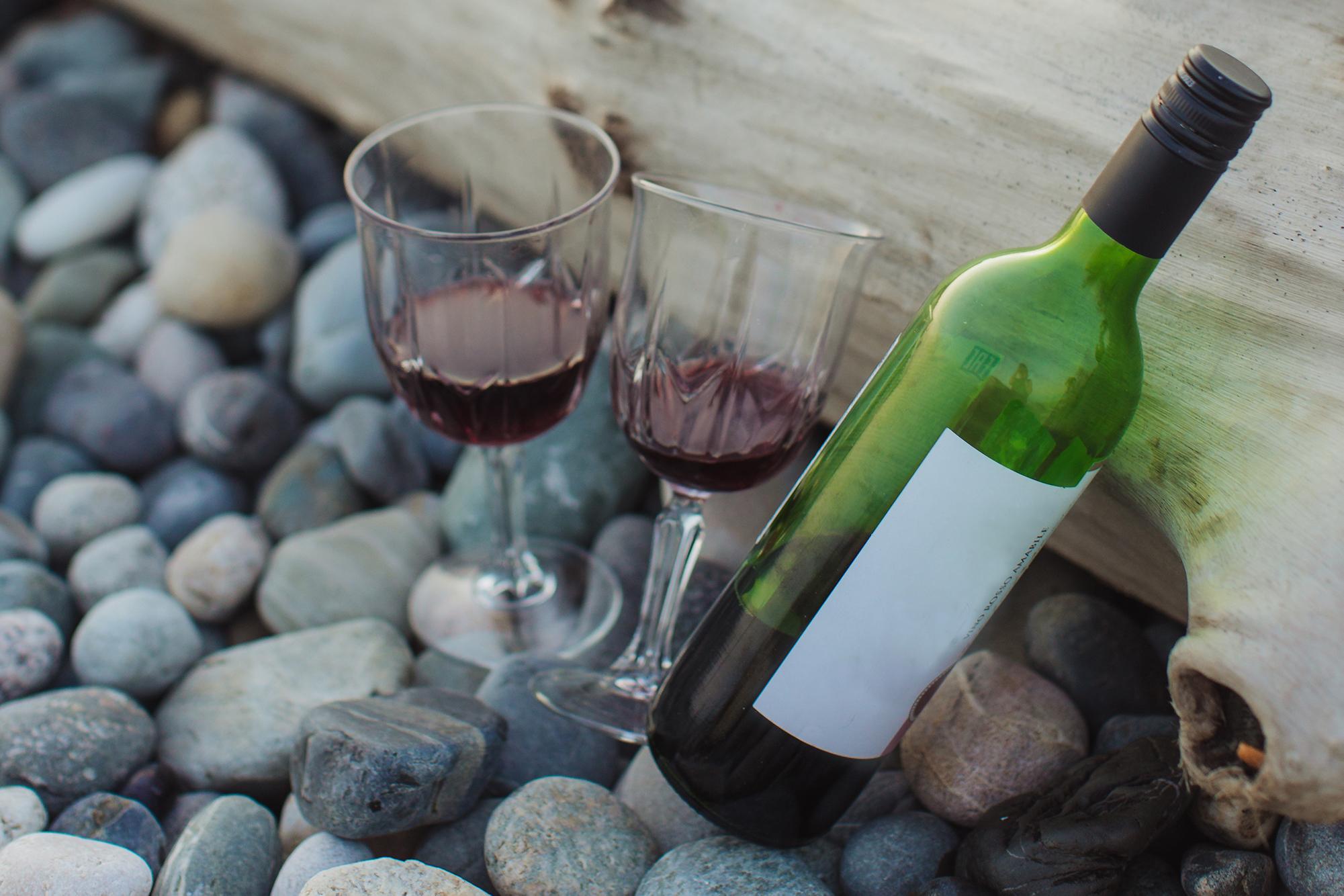 Weinprobe an der Lippe