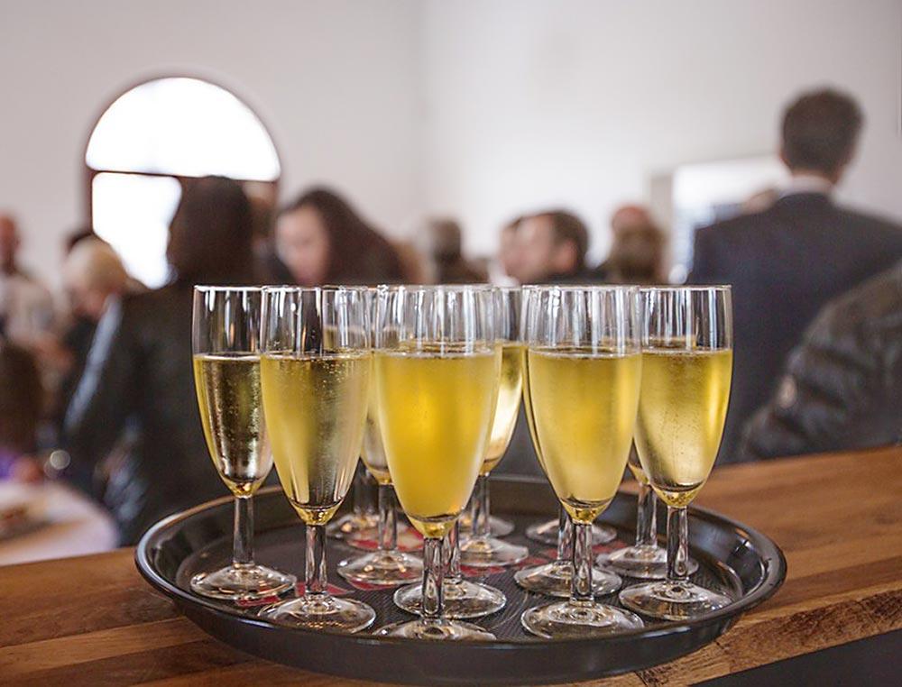 Firmen-Event mit Wein